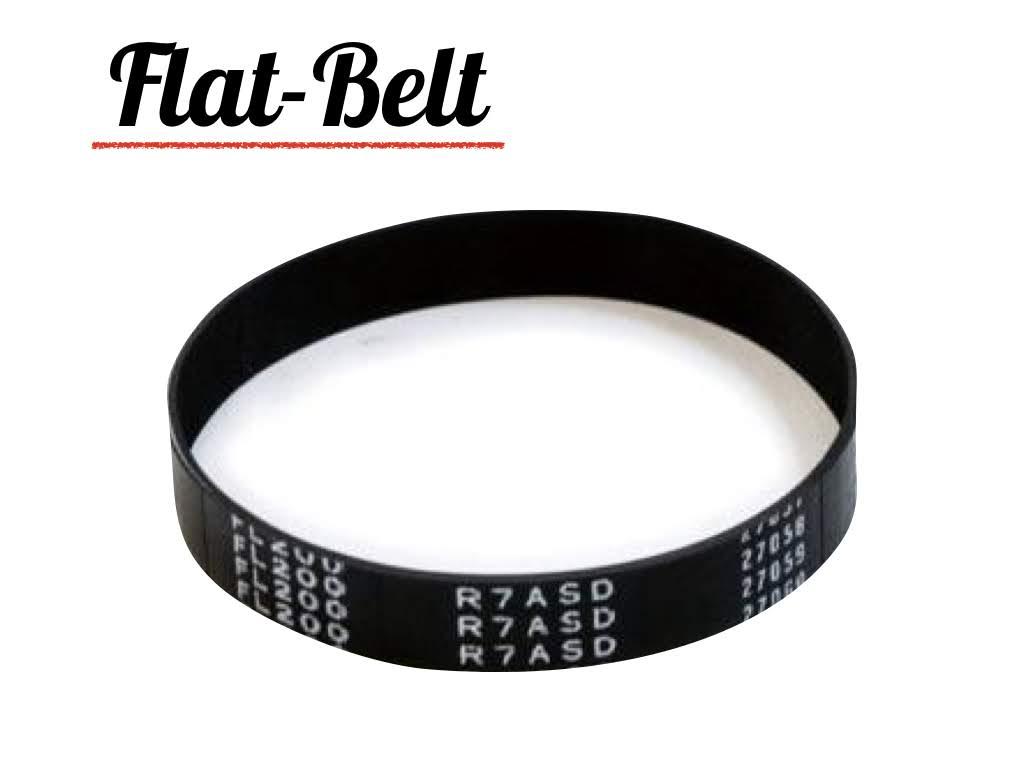 สายพานแบน (Flat belt)