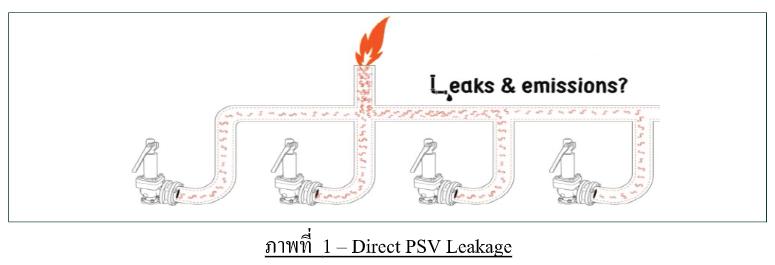 Direct spring PSV leak